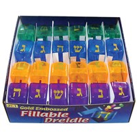 Refillable Plastic Dreidels