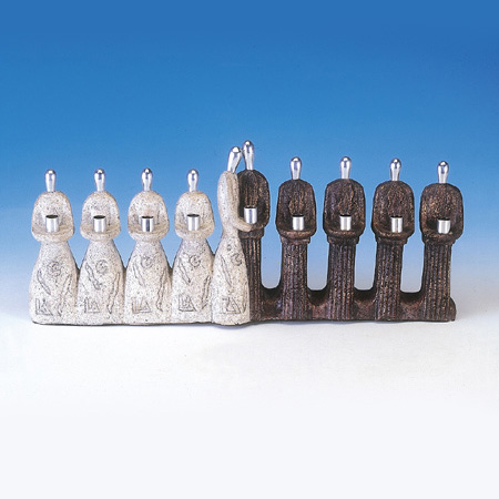Best Friends Stone Menorah