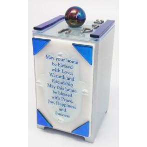 Hamsa Home Blessing Tzedukah Box