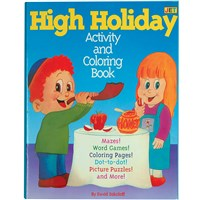 High Holiday Activity & Coloring Book