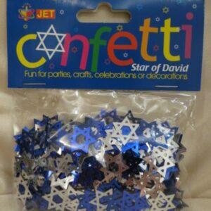 Star of David Confetti