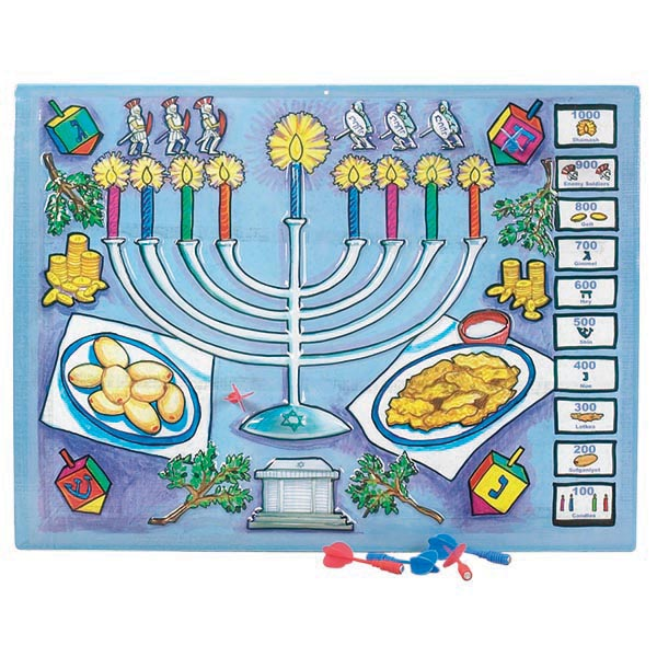 Chanukah Dart Board